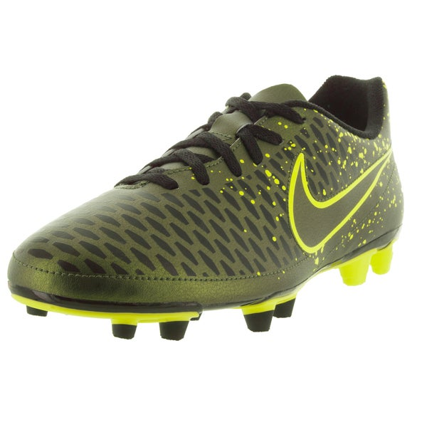 Nike Men's Magista OLA FG Dark Citron/Black Synthetic Soccer Cleats