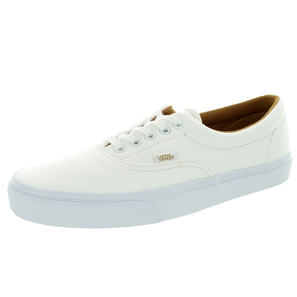 Vans Unisex Era True White Premium Leather Skate Shoe