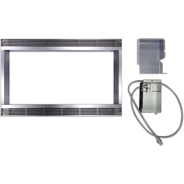 Sharp Stainless Steel 30-inch Built-in Trim Kit for Sharp Microwave R651ZS 19426119