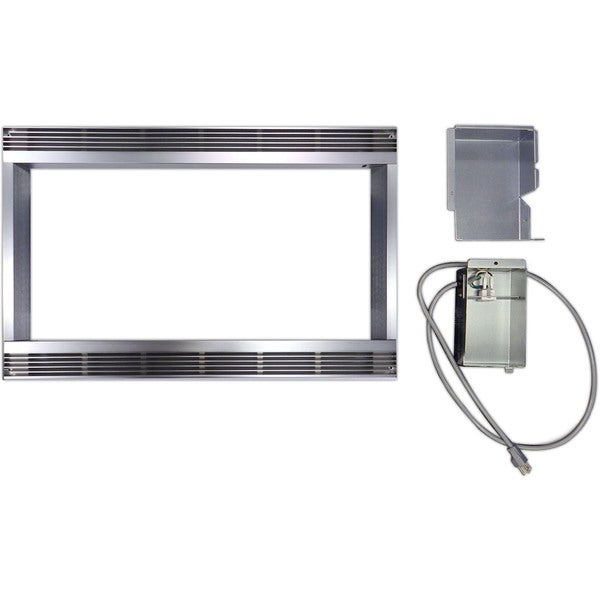 Stainless Steel 27-inch Built-in Trim Kit for Sharp Microwave R651ZS 19426093