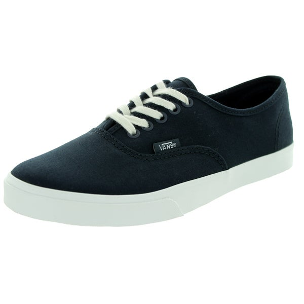 Vans Unisex Authentic Lo Pro Vintage Blue Graphite Canvas Casual Shoe (Size 4)