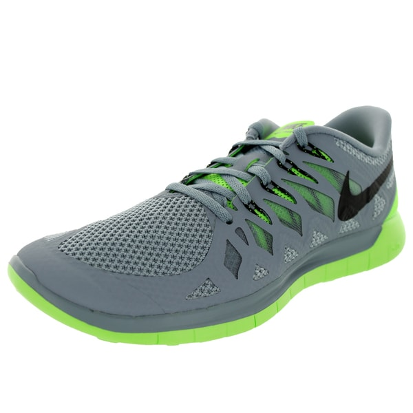 Nike Men's Free 5.0 Magenta/Black/Electric Green/Light Magenta Running Shoe