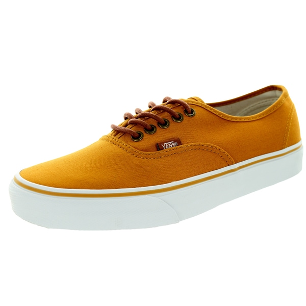 Vans Unisex Authentic Inca Gold/Tortoise Shell Canvas Skate Shoe