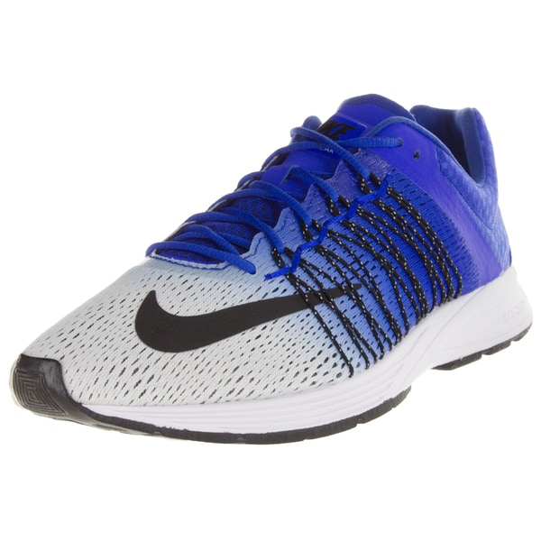 Nike Men's Air Zoom Streak 5 White/Black/Racer Blue Running Shoe