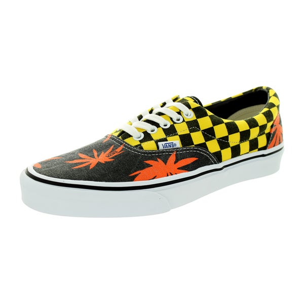 Vans Unisex Era Van Doren Orange/Yellow Canvas Skate Shoe