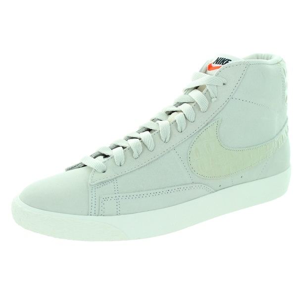 Nike Men's Blazer Beige Suede Walking Shoes