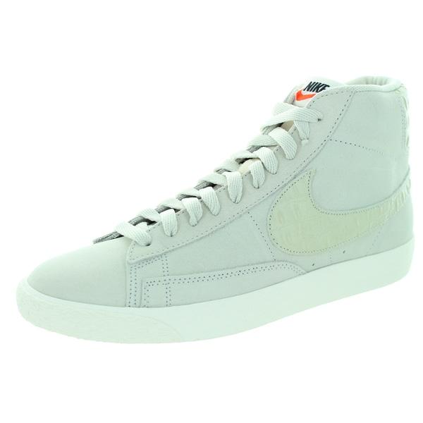 Nike Men's Blazer Beige Suede Walking Shoes