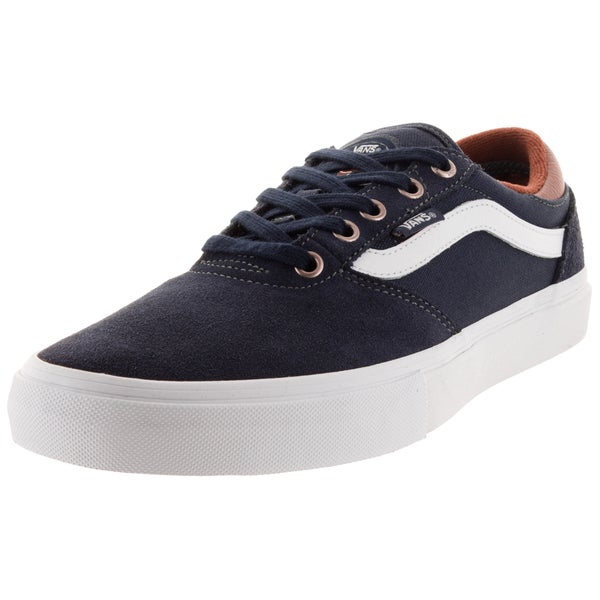 Vans Men's Gilbert Crockett Pro Blue Suede Skate Shoes