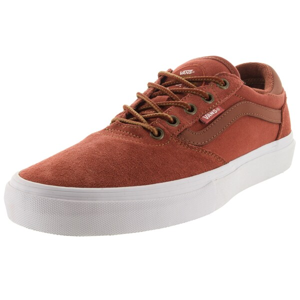 Vans Men's Gilbert Crockett Pro Red Suede Skate Shoes