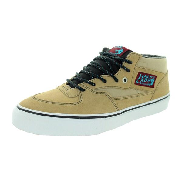 Vans Men's Half Cab Pro Khaki Suede Skate Shoe