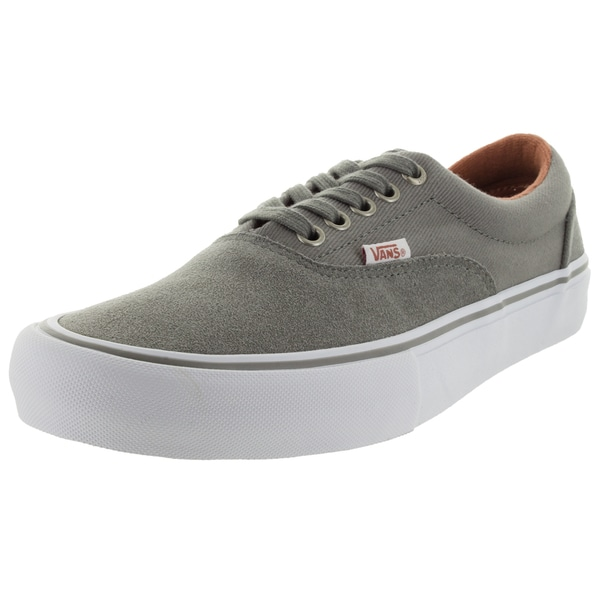Vans Men's Era Pro Grey Suede Skate Shoes