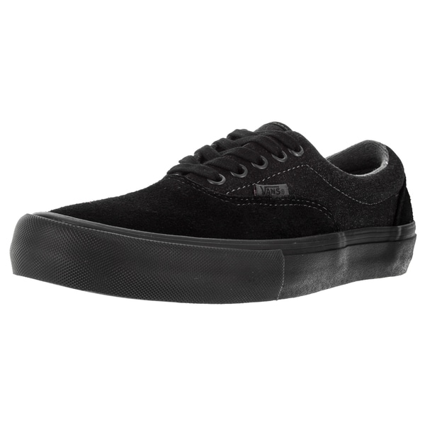 Vans Men's Era Pro Black Suede Skate Shoes