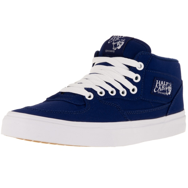 Vans Unisex Half Cab Blue Canvas Skate Shoes
