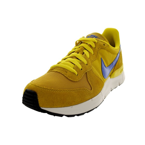 Nike Men's Lunar Internationalist Dark Citron Running Shoes