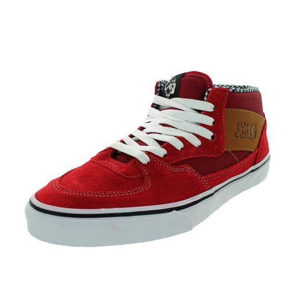 Vans Unisex Half Cab Red Chili Pepper Suede Skate Shoe