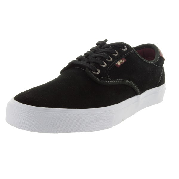 Vans Men's Chima Pro Ferguson Black Suede Skate Shoes