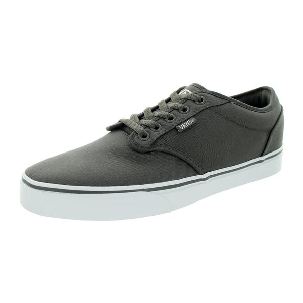 Vans Men's Atwood Pewter/White Canvas Skate Shoe