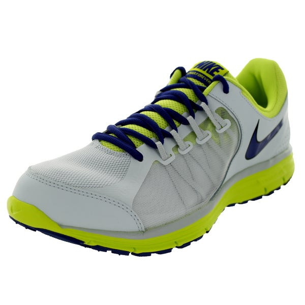 Nike Men's Lunar Forever 3 Royal Blue/Venom Green/Black Mesh Running Shoes