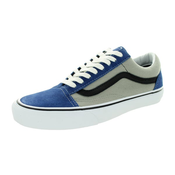 Vans Unisex Old Skool Navy/Grey Suede/Canvas Skate Shoe
