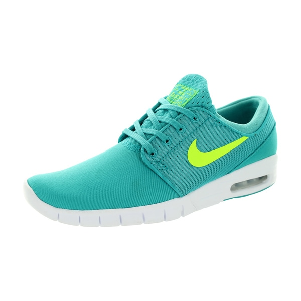 Nike Men's Stefan Janoski Max Dusty Cactus/Volt/White Mesh Running Shoe