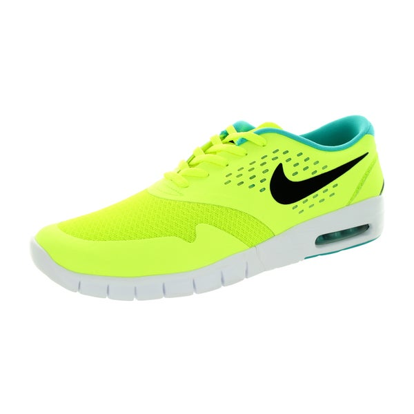 Nike Men's Eric Koston 2 Max Volt/Black/Dusty Cactus Mesh Running Shoe