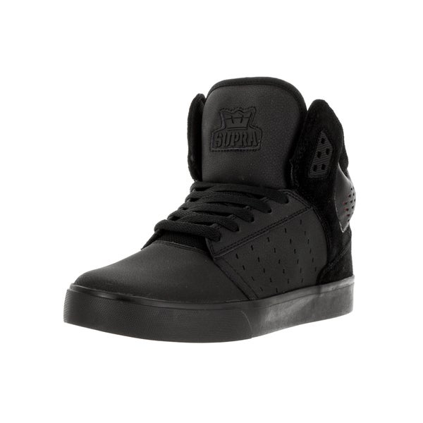 Supra Men's Atom Black/Black Skate Shoe