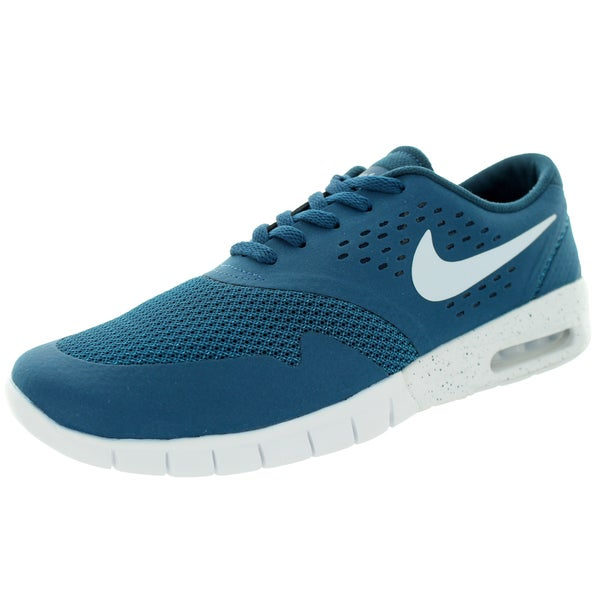 Nike Men's Eric Koston 2 Max Blue Force and White Running Shoes
