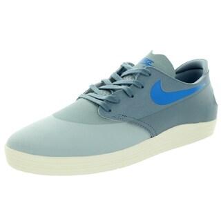 Nike Men's Lunar Oneshot Silver Wing/Magenta/Ivory Synthetic/Leather Skate Shoe