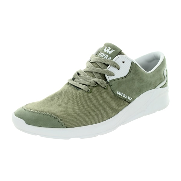 Supra Men's Noiz Laurel Green Leather Walking Shoes