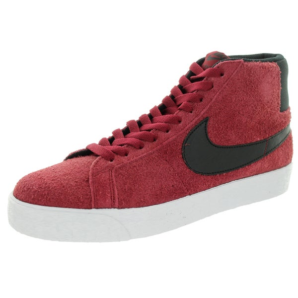 Nike Men's Blazer Sb Premium Se Team Red/Black/White Skate Shoe
