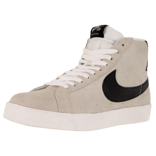 Nike Men's Blazer SB Premium SE Summit White Suede Skate Shoes