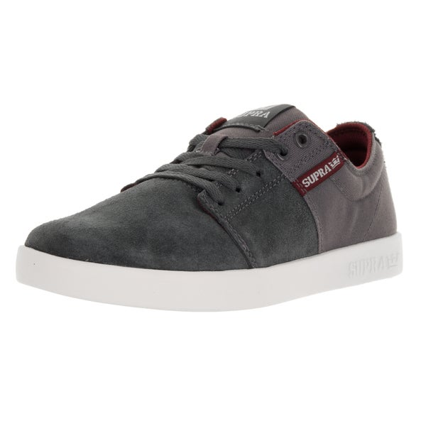 Supra Men's Stacks Ii Magnet/Port/White Skate Shoe