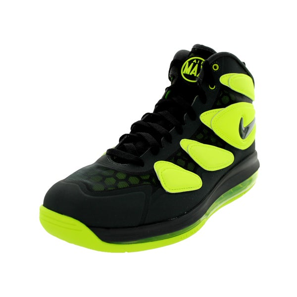 Nike Men's Air Max Sq Uptempo Zm Anthracite/Anthracite/Volt/Black Basketball Shoe