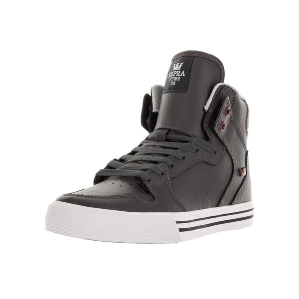 Supra Men's Vaider Charcoal Skate Shoes
