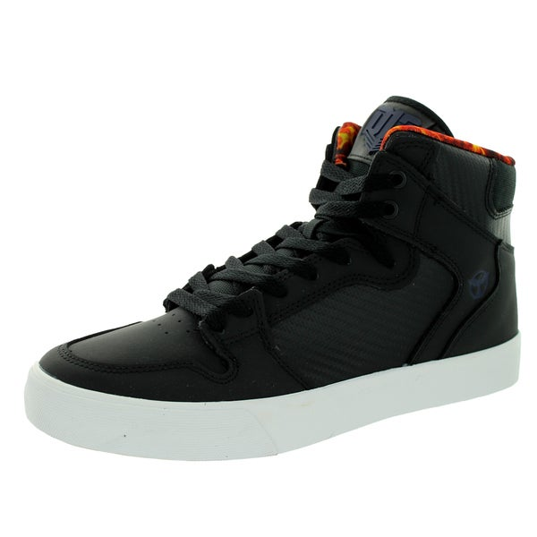 Supra Men's Vaider District 13 Black Synthetic Skate Shoe