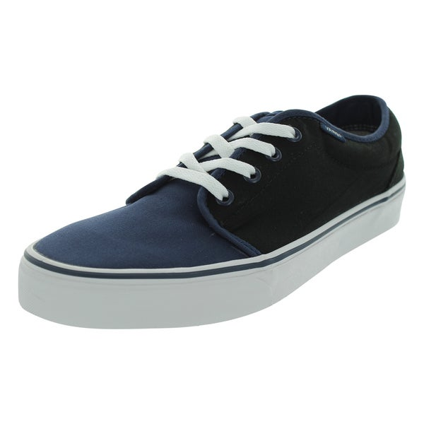 Vans 106 Vulcanized Black Canvas Skate Shoes
