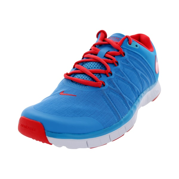 Nike Men's Free Trainer 3.0 Vivid Blue Mesh Training Shoe
