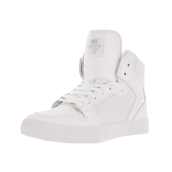 Supra Men's Vaider White Skate Shoe