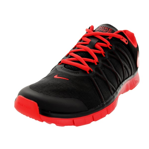 Nike Men's Free Trainer 3.0 Black Mesh Walking Shoes