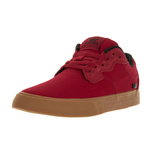 Supra Men's Axle Red Skate Shoes