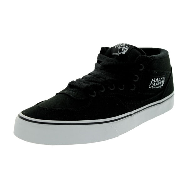 Vans Unisex Off the Wall Half Cab Black Canvas Skate Shoe