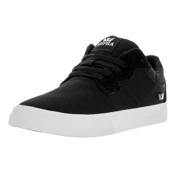Supra Men's Axle Black Textile Skate Shoes