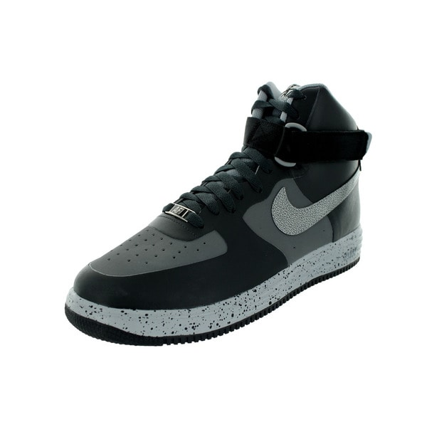 Nike Men's Lunar Force 1 Ns Hi Prm Anthracite Synthetic Leather Basketball Shoe