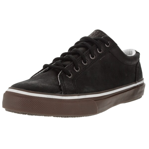 Sperry Top-Sider Men's Striper Black Leather Casual Shoes