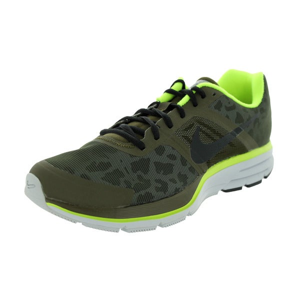 Nike Men's Air Pegasus+ 30 Shield Green Synthetic Running Shoe