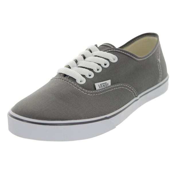 Vans Authentic Lo Pro Pewter/True White Canvas Casual Shoes