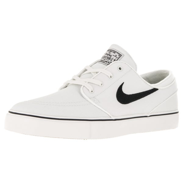 Nike Men's Zoom Stefan Janoski Canvas Summit White/Black Skate Shoe