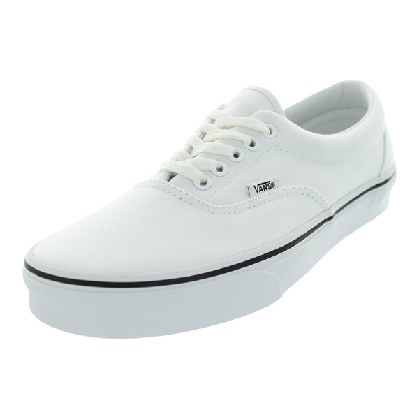 Vans Unisex Era True White Canvas Skate Shoe
