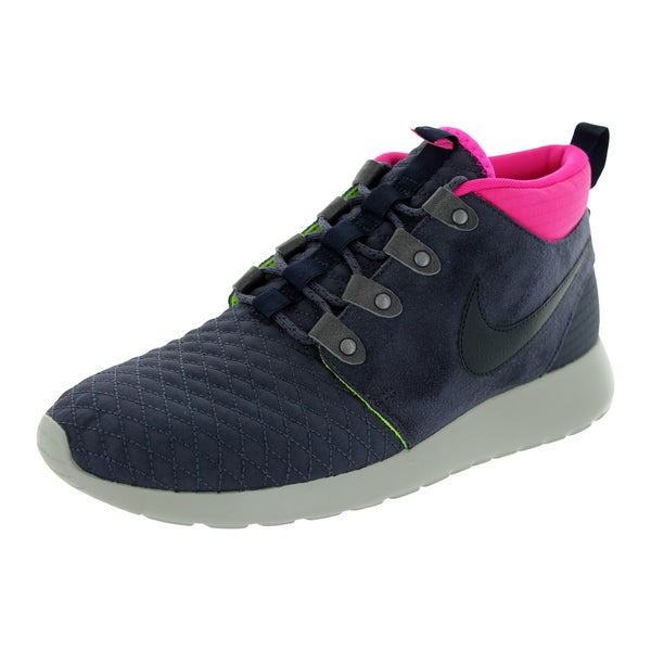 Nike Men's Roshe Multicolor Suede Run Sneakerboots