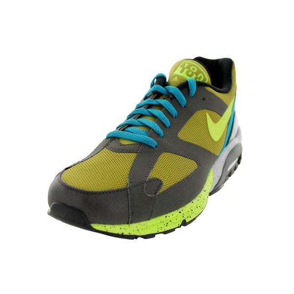 Nike Men's Air Max Terra 180 Gold/Multicolored Suede Running Shoe